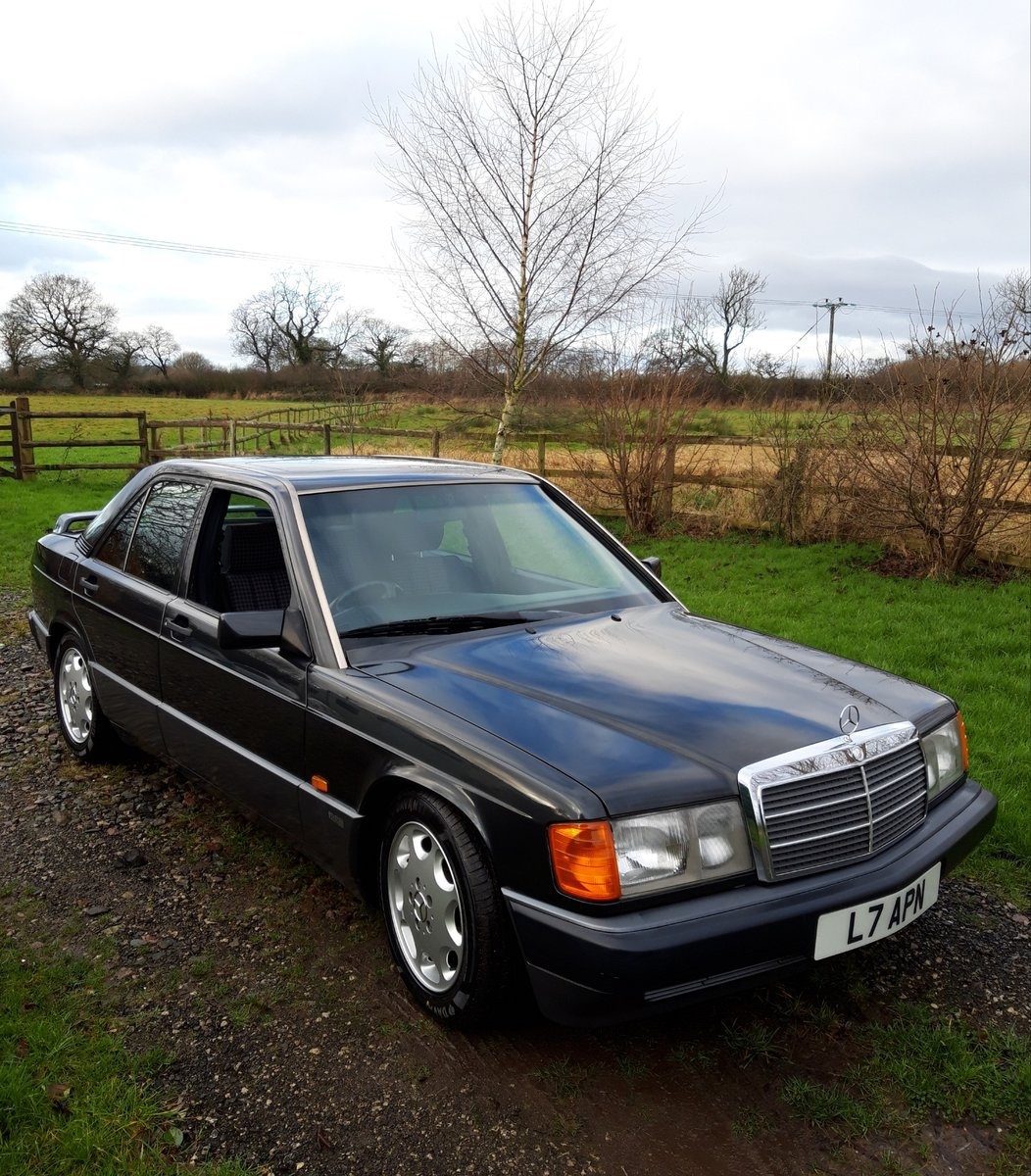 Immaculate Mercedes 190E 1993 2.0 auto For Sale (picture 2 of 6)