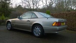 1995 Smoke Silver R129 SL320 ------  NOW SOLD