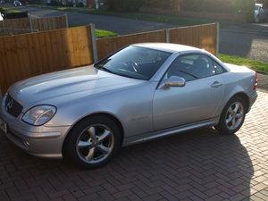 2001 Mercedes Benx SLK 230 Auto
