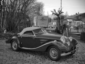 1937 Mercedes 320n Special Roadster, Matching Numbers For Sale
