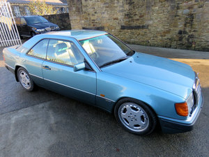 1993 Mercedes W124 E320 Coupe Sportline - 115K - FSH - AMG Aero 2 For Sale