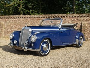 Picture of 1955 Mercedes Benz 220A Convertible restored condition, only 1.27 For Sale