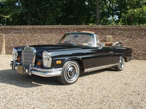 1967 Mercedes Benz 250SE Convertible with AC, only 58.101 miles For Sale