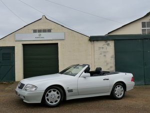 1993 Mercedes 500SL R129, full history, excellent specification For Sale
