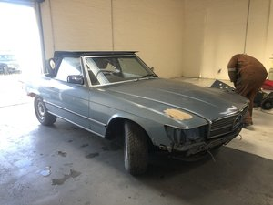 1974 MERCEDES-BENZ R107 350SL PROJECT