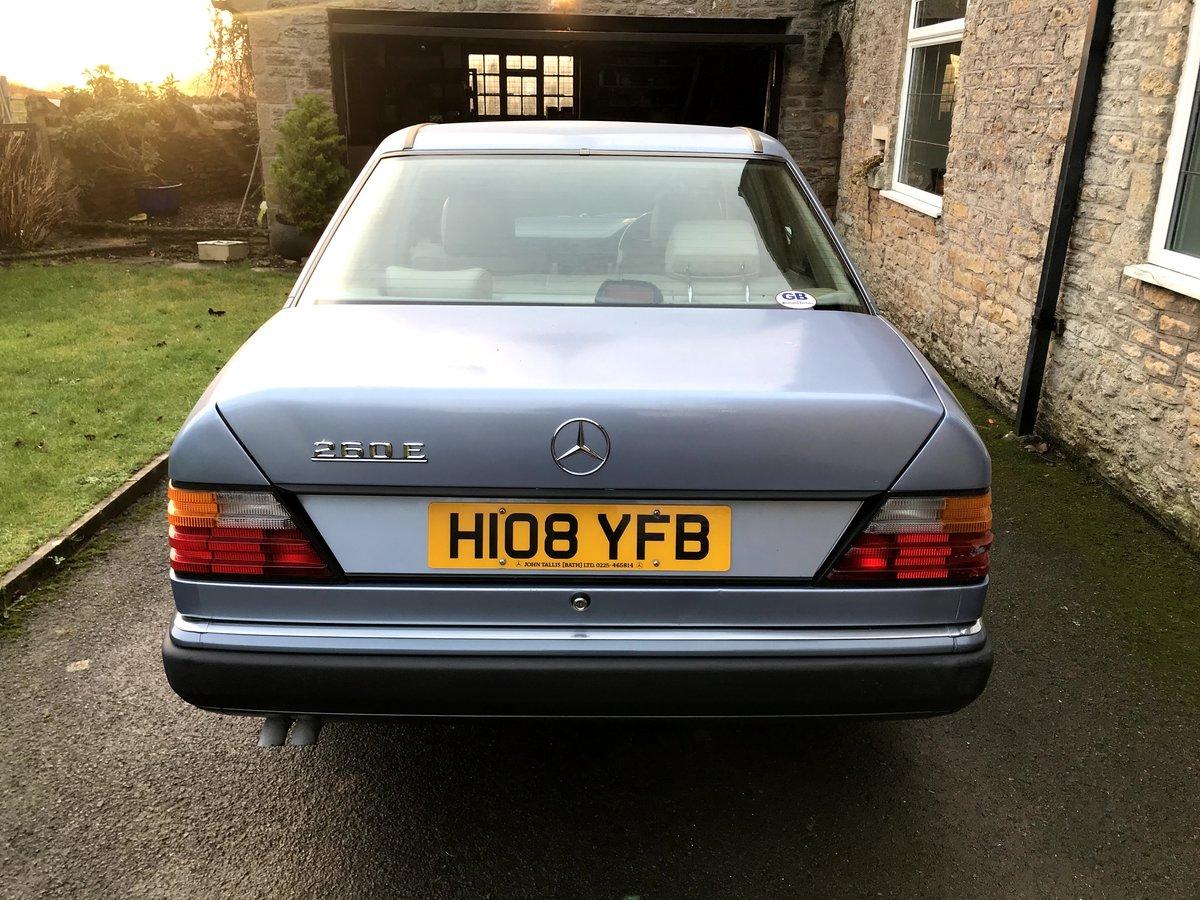 1990 Mercedes W124 260E Auto  For Sale (picture 3 of 6)