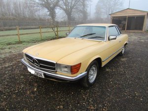 1981 Mercedes 280 SLC For Sale