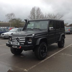 1996 Mercedes G-Wagon G320