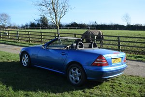 2003 MERCEDES SLK KOMPRESSOR 230 - LAST OWNER 11 YEARS.