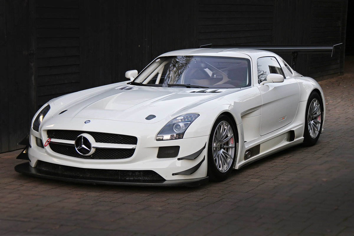 2011 Mercedes SLS GT3 A one owner AMG built car never raced For Sale (picture 1 of 6)