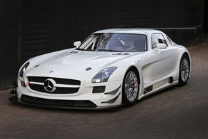 2011 Mercedes SLS GT3 A one owner AMG built car never raced For Sale