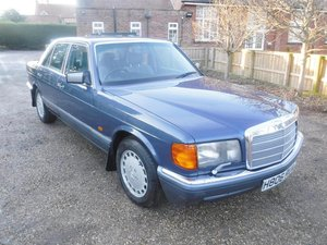 1990 Mercedes 300SE SOLD by Auction