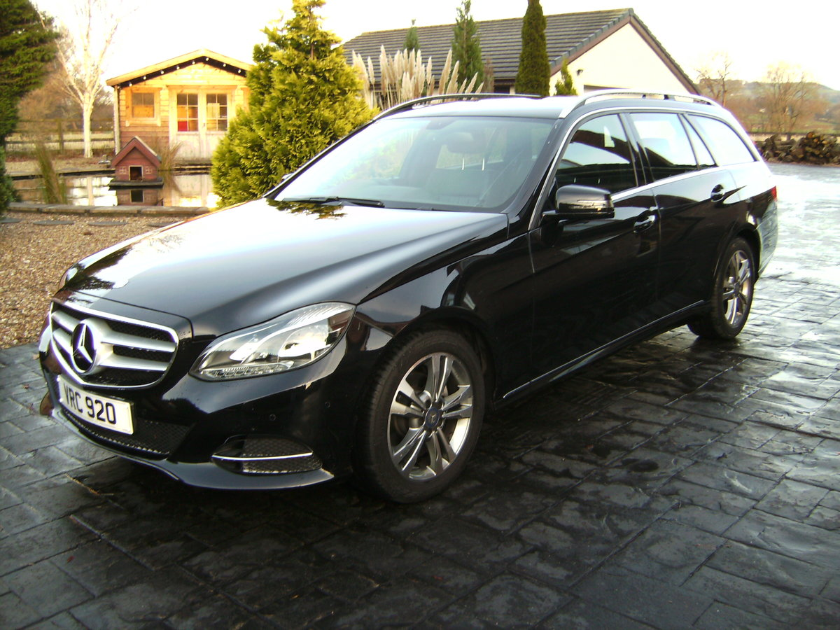 2014 Mercedes e220 cdi estate car For Sale (picture 2 of 4)