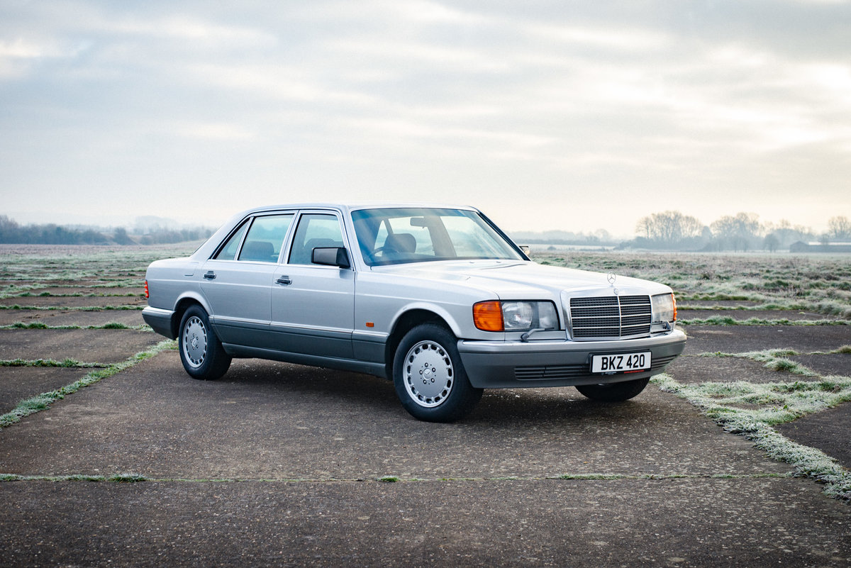 1991 Mercedes W126 420sel 41k Miles From New Immaculate Sold Car And Classic
