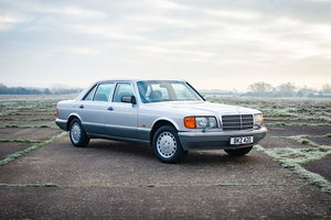 1991 Mercedes W126 420SEL - 41k Miles From New - Immaculate For Sale