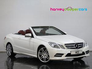 2012 Mercedes-Benz E Class E350 CDI BlueEFFICIENCY [265] Sport 2d SOLD