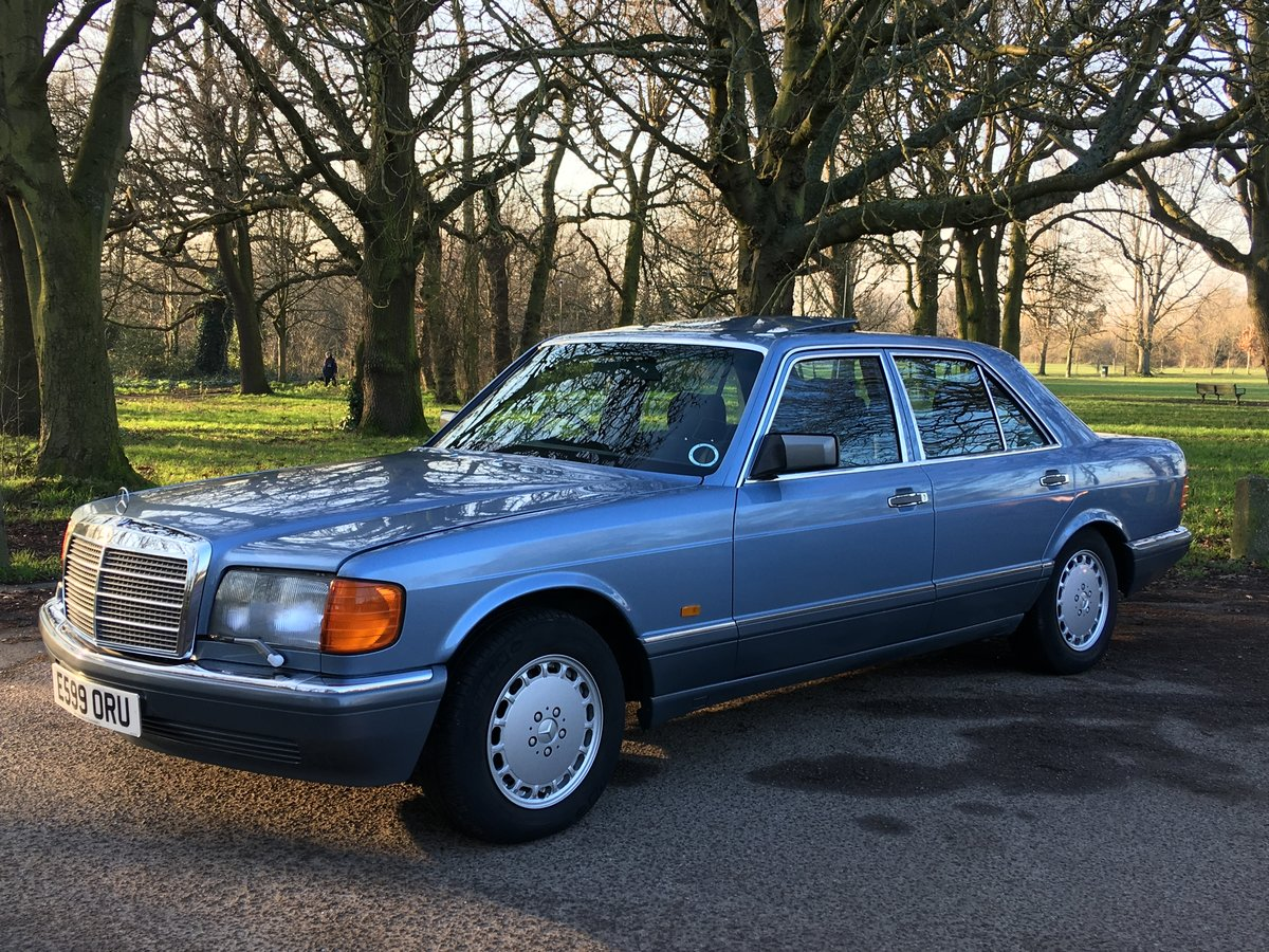 Sold nowMercedes 300 SE 1988 W126 Auto only 51,507 miles  SOLD (picture 1 of 6)