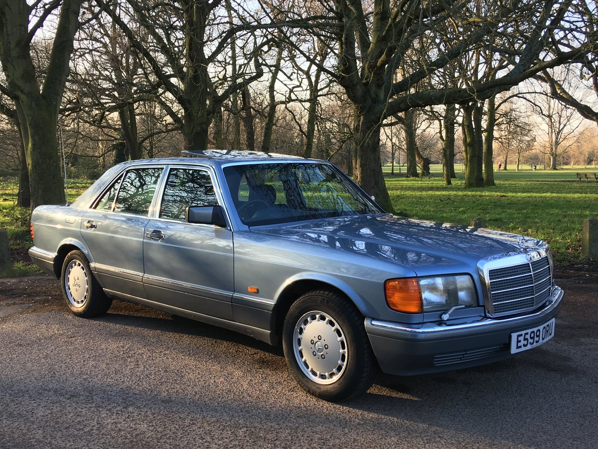 Sold nowMercedes 300 SE 1988 W126 Auto only 51,507 miles  SOLD (picture 2 of 6)