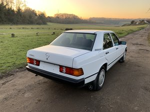 1988 Mercedes 190E W201 - 25k Miles & 1 Owner from New.