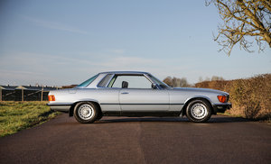 1981 Mercedes-Benz 380SLC with just 24,000 miles exceptional For Sale