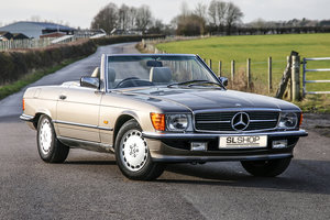 1988 Mercedes-Benz 300SL (R107) Rare Impala Brown just 52k Miles For Sale
