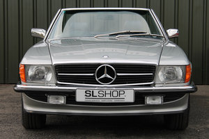 Picture of 1987 Mercedes-Benz 500SL V8 (R107) #2174 45k Miles Blue Leather For Sale