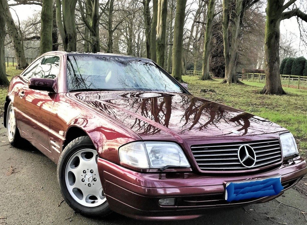 1997 Mercedes SL500  For Sale (picture 1 of 6)