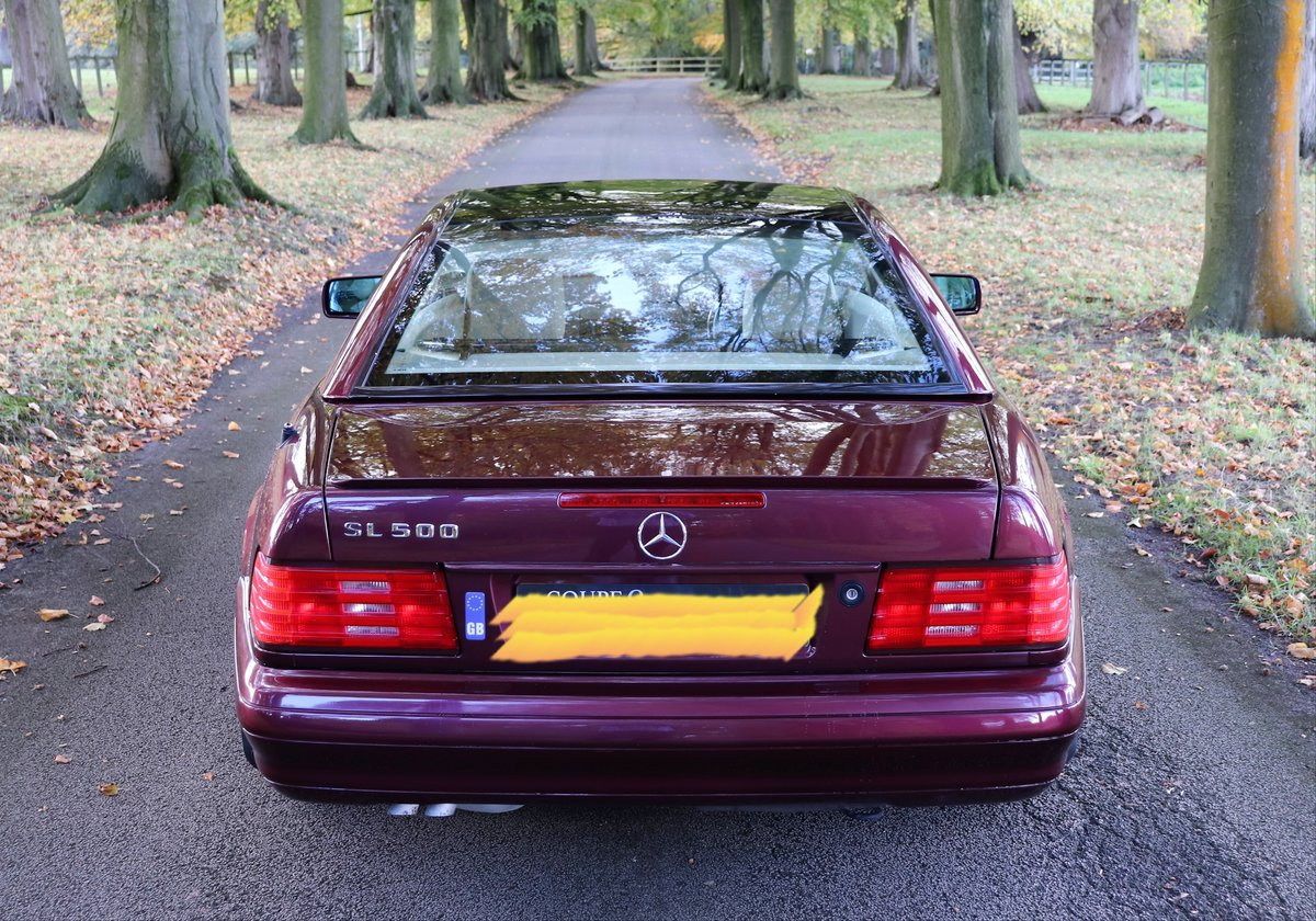 1997 Mercedes SL500  For Sale (picture 2 of 6)
