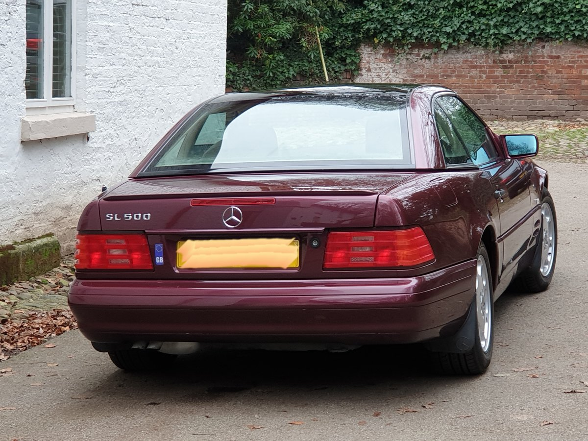 1997 Mercedes SL500  For Sale (picture 4 of 6)