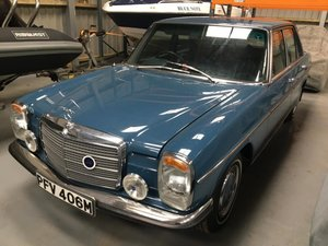 1974 Mercedes-Benz 230/4 (W115) For Sale