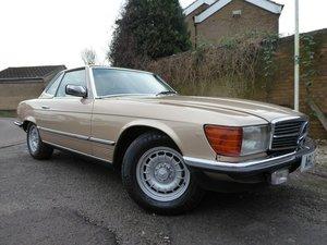 Mercedes-Benz SL 380 R107 1983 12 MONTHS MOT For Sale