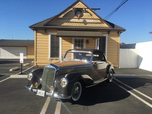 # 23208 1953 Mercedes-Benz 220A Cabriolet California Car For Sale