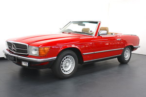MERCEDES 280SL CONVERTIBLE- WITH HARDTOP