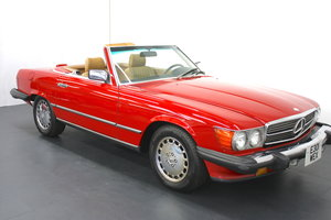 1988 MERCEDES BENZ 560SL LHD CONVERTIBLE
