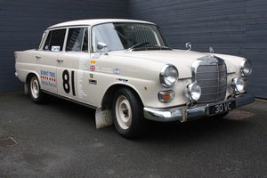 1968 MERCEDES BENZ 230 FINTAIL RALLY PREPARED For Sale