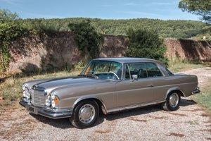 1970 Mercedes-Benz 280 SE 3,5L coupé No reserve For Sale by Auction