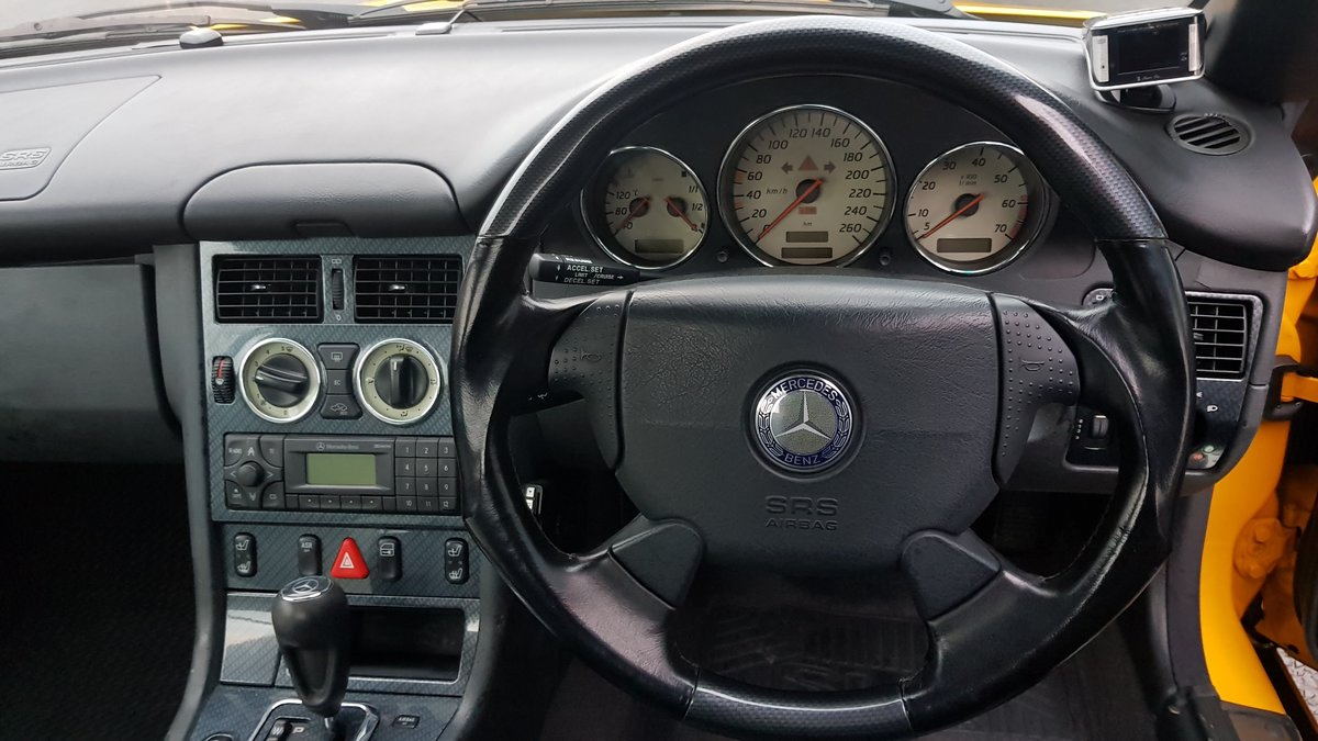 1999 MERCEDES-BENZ SLK MERCEDES SLK CONVERTIBLE 230 BRABUS WHEELS For Sale (picture 4 of 6)