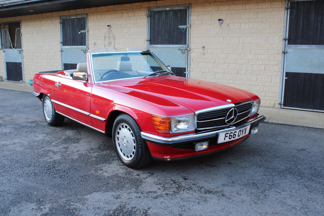 1989 MERCEDES 300 SL (BEST AVAILABLE) – £69,950 For Sale (picture 1 of 20)