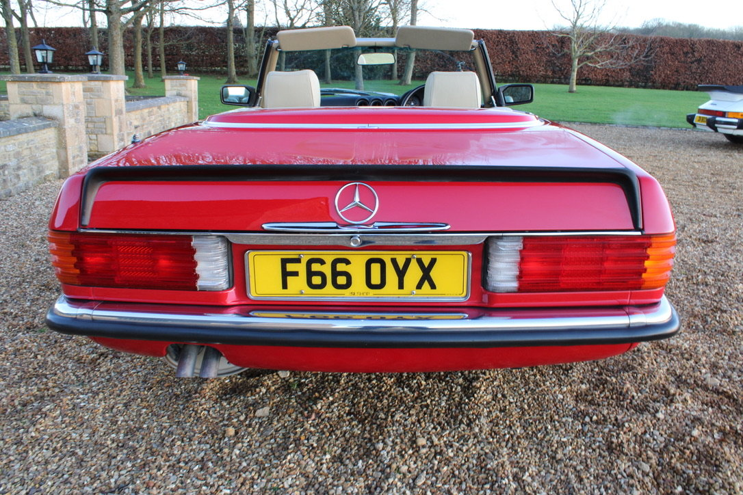 1989 MERCEDES 300 SL (BEST AVAILABLE) – £69,950 For Sale (picture 3 of 20)