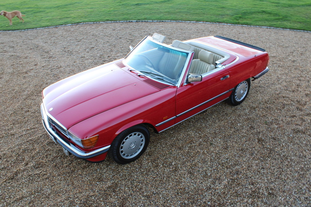 1989 MERCEDES 300 SL (BEST AVAILABLE) – £69,950 For Sale (picture 10 of 20)