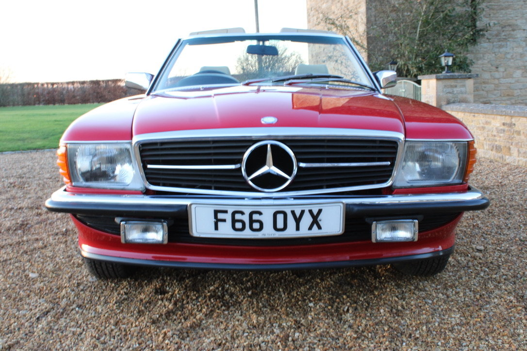 1989 MERCEDES 300 SL (BEST AVAILABLE) – £69,950 For Sale (picture 11 of 20)