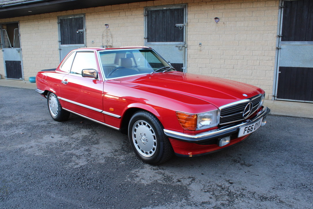 1989 MERCEDES 300 SL (BEST AVAILABLE) – £69,950 For Sale (picture 13 of 20)