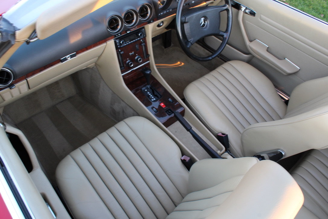 1989 MERCEDES 300 SL (BEST AVAILABLE) – £69,950 For Sale (picture 15 of 20)
