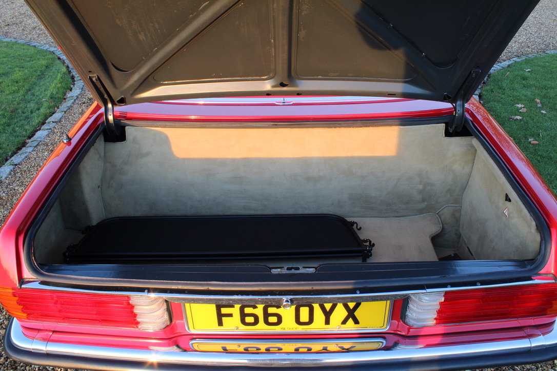 1989 MERCEDES 300 SL (BEST AVAILABLE) – £69,950 For Sale (picture 16 of 20)