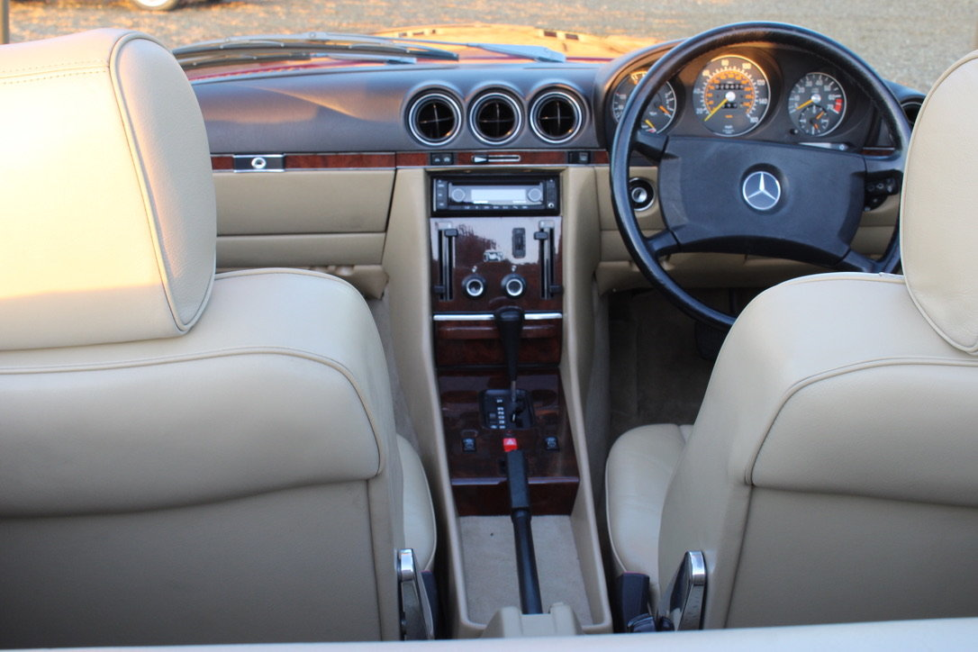 1989 MERCEDES 300 SL (BEST AVAILABLE) – £69,950 For Sale (picture 17 of 20)