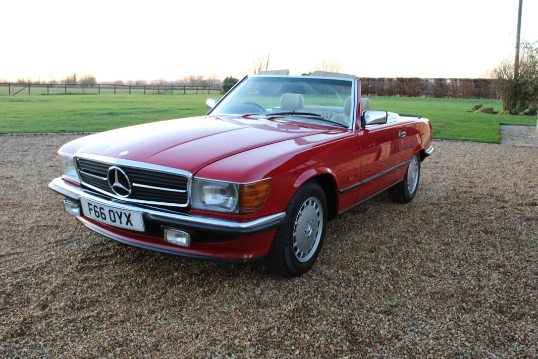 1989 MERCEDES 300 SL (BEST AVAILABLE) – £69,950 For Sale (picture 18 of 20)