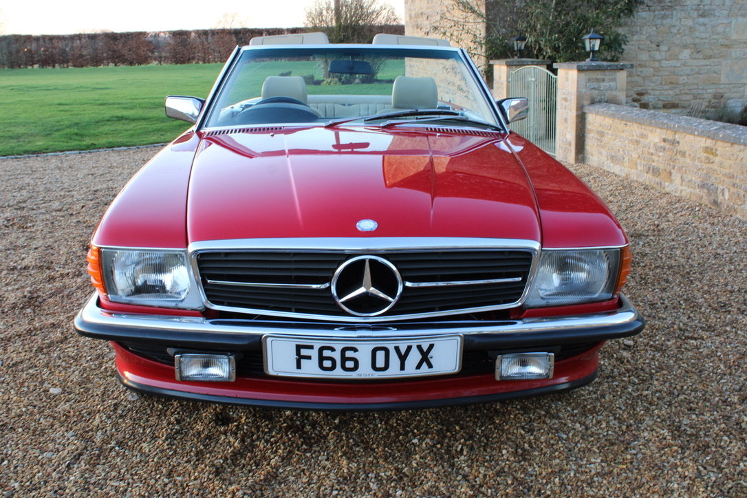 1989 MERCEDES 300 SL (BEST AVAILABLE) – £69,950 For Sale (picture 19 of 20)