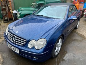 2003 Mercedes CLK320 SOLD by Auction