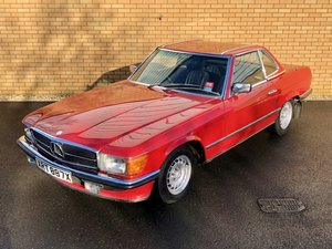 1982 MERCEDES-BENZ SL 3.8 // 380 SL // Convertible // 218 BH For Sale