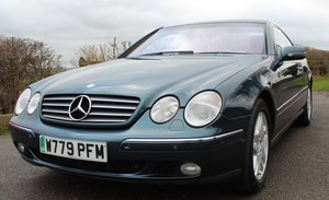2000 Mercedes Benz CL500 V8 Coupe  70,200 miles with FSH For Sale